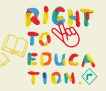 Poster for Tomorrow: 'The Right to Education' | VCUQatar